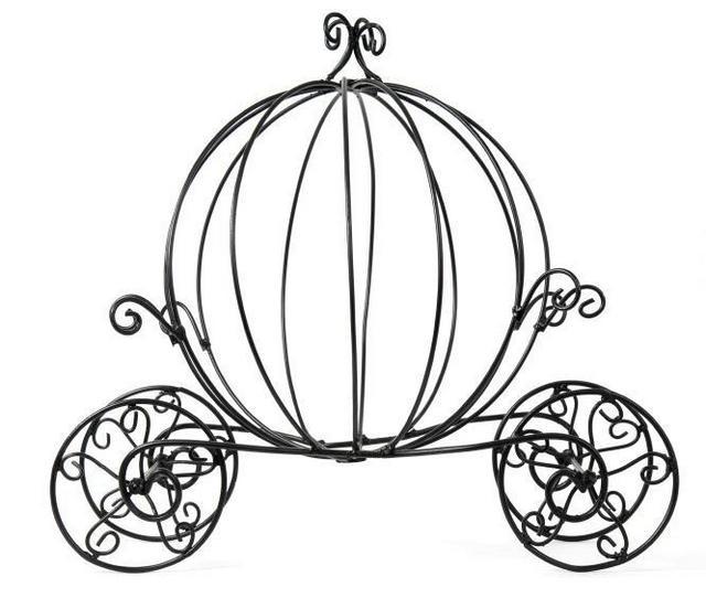 Perfect cinderella pumpkin coloring sheet