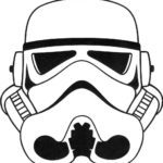 best stormtrooper helmet coloring sheet
