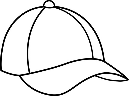epic baseball cap hat coloring sheet