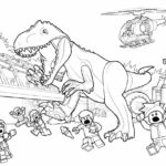 lego indominus rex coloring printable sheet