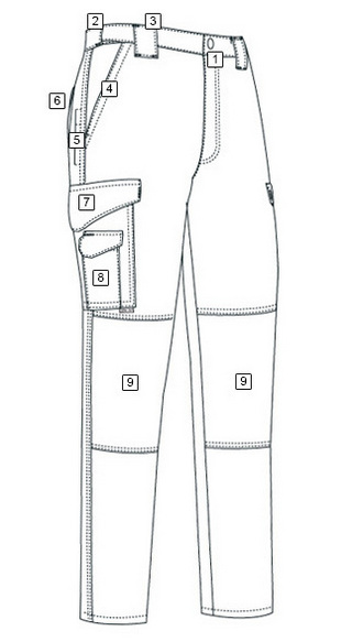 mens pants coloring picture design