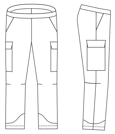 perfect pants coloring printable page
