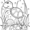 7 Best Sea Turtles Coloring Pages for Kids Ages 5 Years and Older