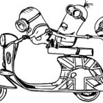 top vespa despicable me minions coloring pages