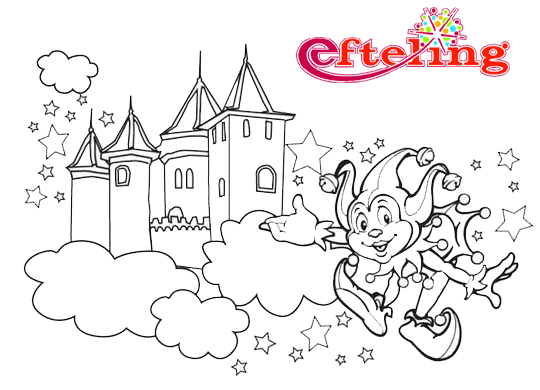 Awesome Efteling Haunted Castle Coloring Pages