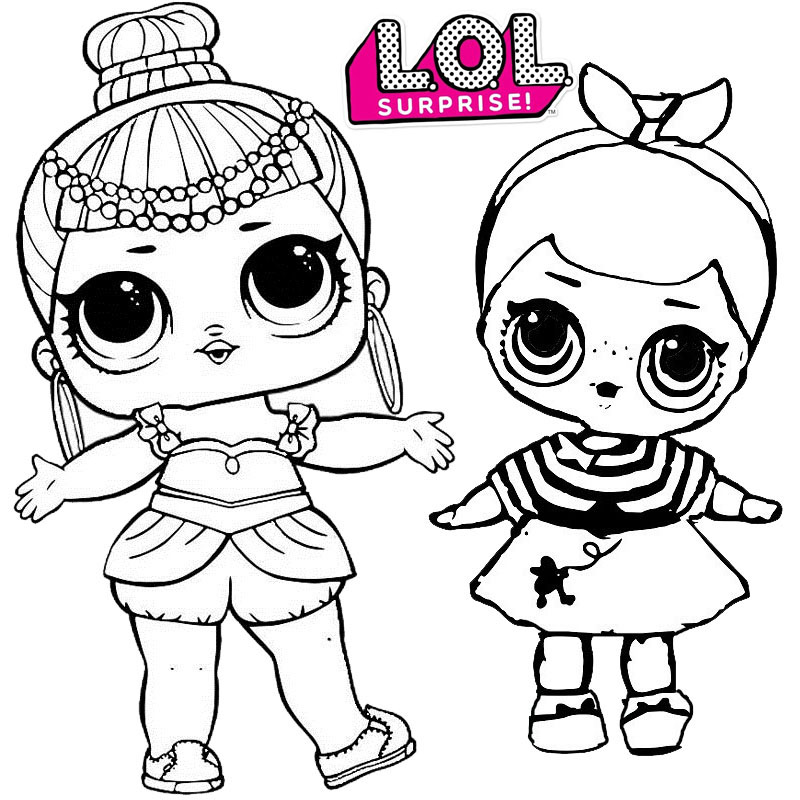 Best LOL Surprise Coloring Sheet for Children