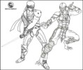 Top 8 Mortal Kombat Coloring Pages for All-Ages