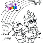 Best Muppet babies Disney Coloring Page