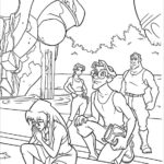 Disney Atlantis the lost empire coloring page printable