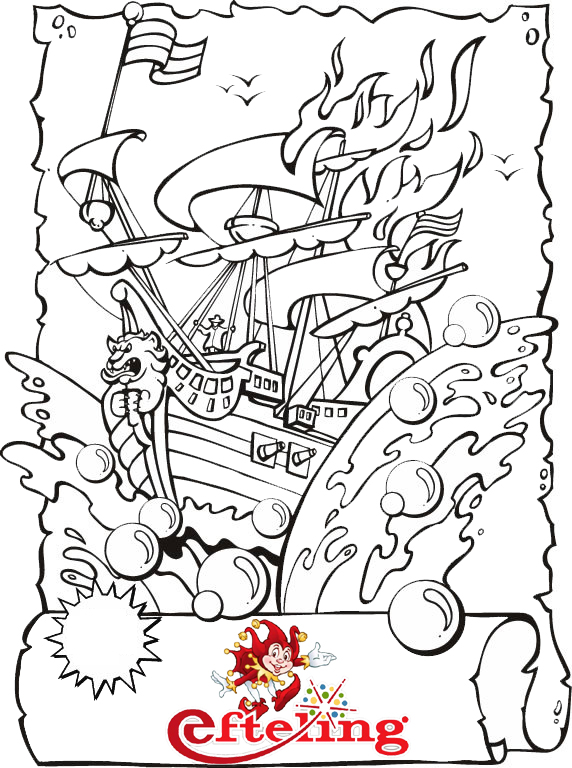 Epic Efteling Coloring Page