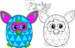 15 Best Furby Coloring Pages for Children