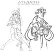 Disney Atlantis The Lost Empire Coloring Pages