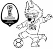 2018 FIFA World Cup Coloring Pages for Sport Fans