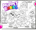 11 Cute Muppet Babies Coloring Pages for Kids