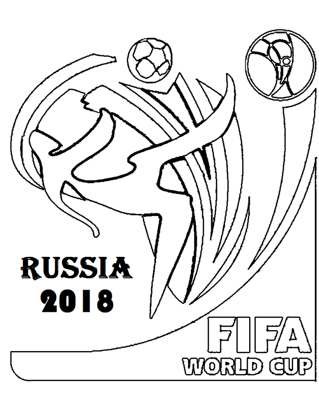 Perfect World Cup Coloring Page for Boys