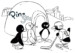 7 Comical Pingu Coloring Pages for Children