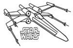 Top 7 X Wing Fighter Coloring Pages for Star Wars Fans