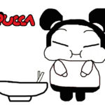 Pucca Noodle Coloring Page for Kids