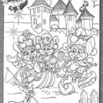 Winter Efteling Coloring Page for Kids and Adults
