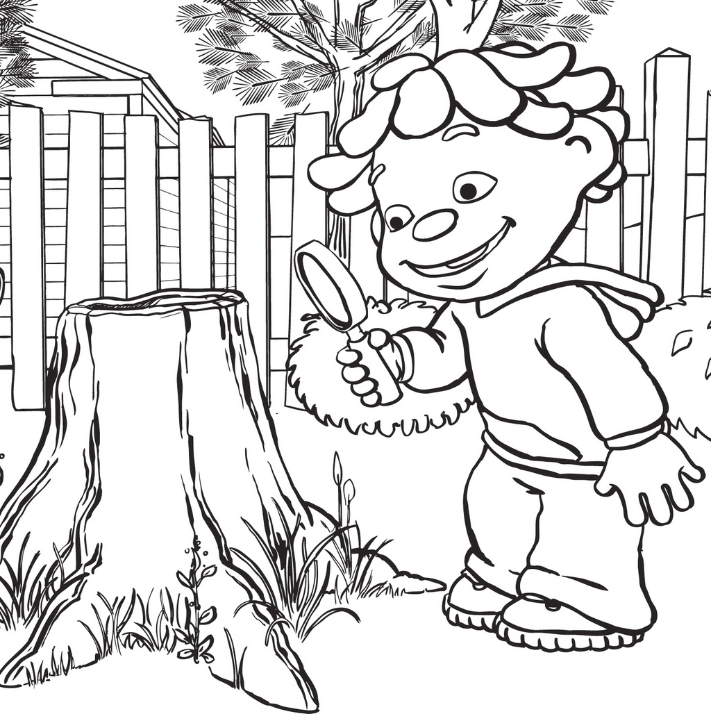 best printable sid the science kid coloring pages for kids