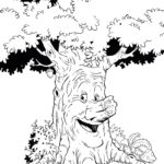 efteling sprekende boom coloring page for all ages