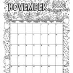 epic nov calendar page