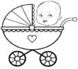 8 Favorite Baby Carriage Coloring Pages for Little Kids