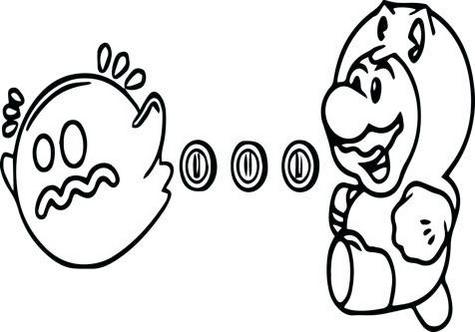fun pac man ghost mario colouring pages