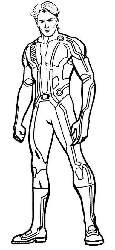 henry danger coloring page for children