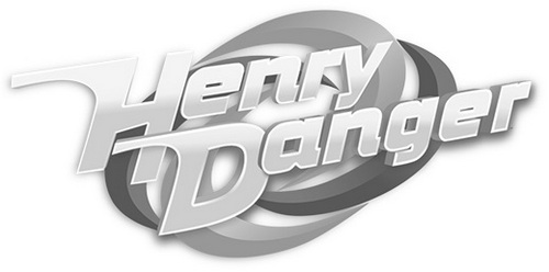 henry danger logo clipart coloring page