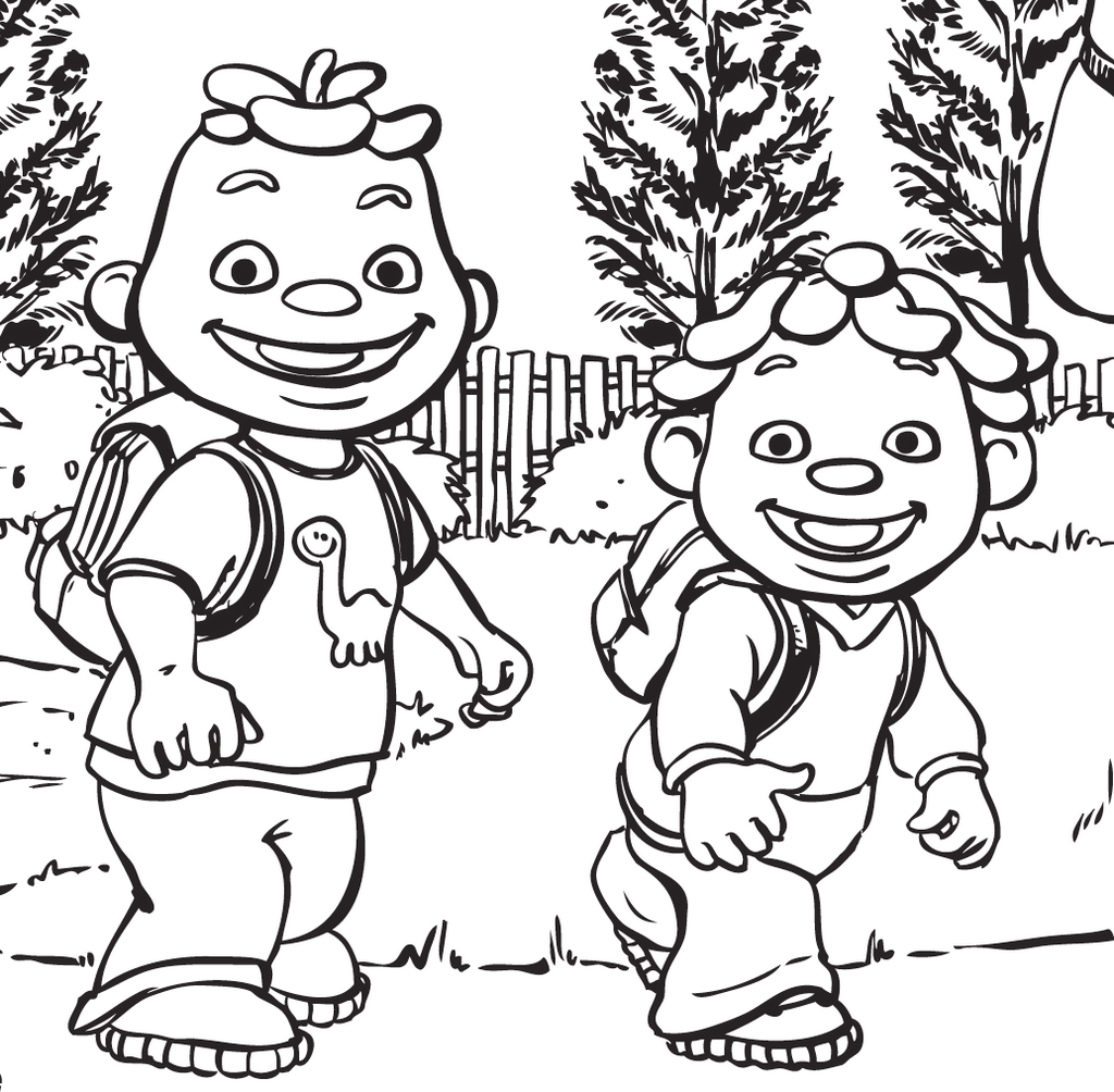 sid the science kid going to school coloring page