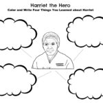 harriet tubmanthe hero coloring page