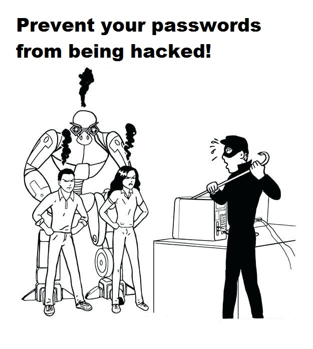 internet safety coloring page to educate kids the importance of protecting account
