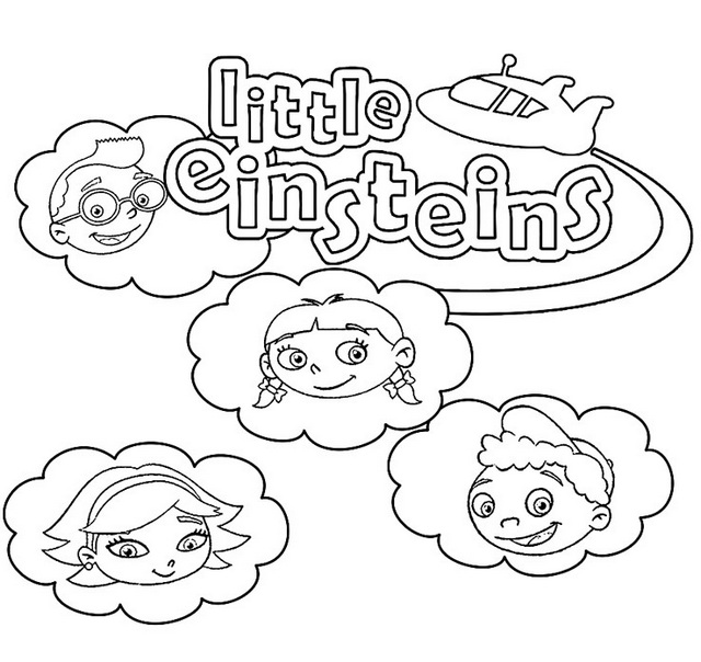 Best Little Einsteins Coloring Pages