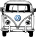 We Love VW Bus Coloring Pages