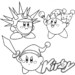 Complete Collection: 10 Fun Kirby Coloring Pages for Children