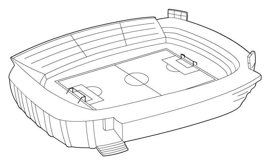 stadium with highest capacity coloring page