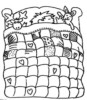 Beautiful Quilt Coloring Pages with Various Motifs