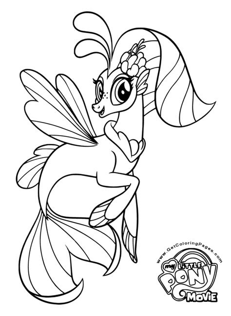 MLP Character Tempest Shadow Coloring Page