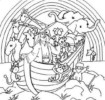 Noah's Ark Coloring Pages Help Kids Learn Alphabets and the Wonder of God's Creation