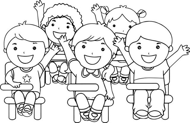 fun classroom games coloring page