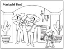 Fun Mariachi Coloring Pages for Children