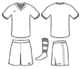 Top 6 Football Kit Colouring Pages for Kids