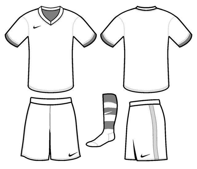 nike football kit coloring page
