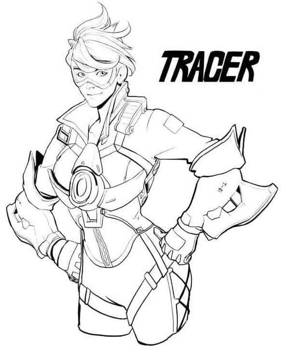 5 Amazing Overwatch Coloring Pages Coloring Pages