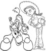Six Exciting Jessie Toy Story Coloring Pages from Disney Pixar