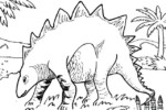 18 Fascinating Stegosaurus Coloring Pages for Kids and Adults