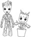 7 Fun Groot Coloring Pages for Marvel Fans