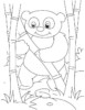 Wonderful Bamboo Coloring Pages for Children