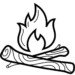 9 Fun Campfire Coloring Pages for Students